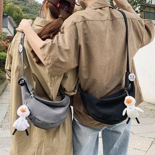 Carryme - Canvas Crossbody Bag / Duck Accessory / Set