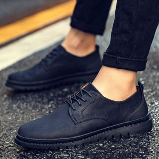 Chariot - Lace-Up Oxfords