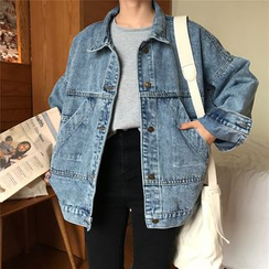 Enoki - Oversized Denim Jacket