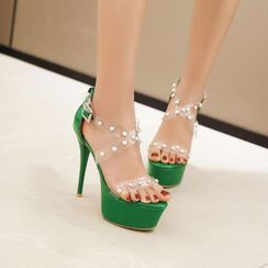 Martha(マーサ) - High Heel Platform Sandals