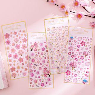 Dukson - Floral Sticker (various designs)