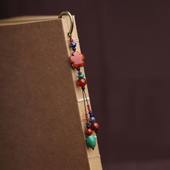 Gangnam - Retro Agate Metal Bookmark