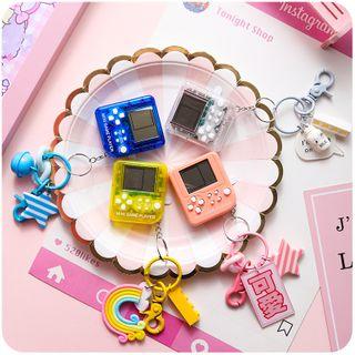 Chimi Chimi - 俄羅斯方塊遊戲機鑰匙扣