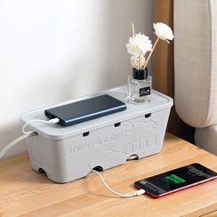 Home Simply - 塑膠電力電纜收納架