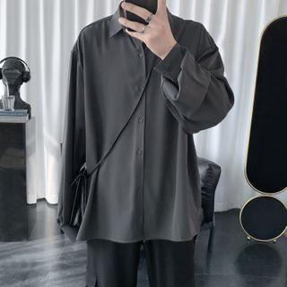 BORGO - Plain Chiffon Shirt