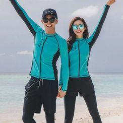 MALILA - Couple Matching Rash Guard / Bikini / Swim Shorts / Swim Pants / Set