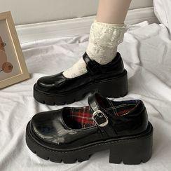 Youaisha - Planform Mary Jane Shoes