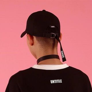 Cap Station - Letter Long Strap Baseball Cap