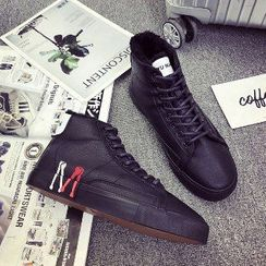 Solejoy - High-Top Lace-Up Sneakers