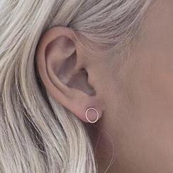 Calypso - Boucles d'oreilles puces cercles