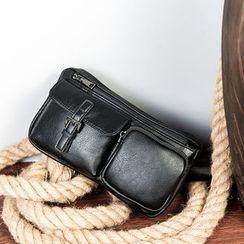 BagBuzz - Faux Leather Belt Bag