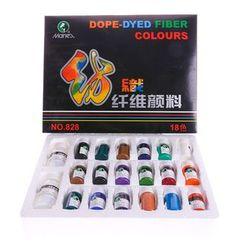Sorah - Set: Fabric Paint / Paint Brush / Palette / Pencil / Eraser / Pencil Sharpener