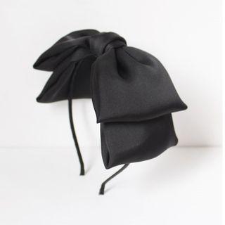 Twin Bear - Bow Fabric Headband