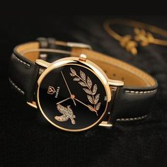 YAZOLE - Embellished Strap Watch