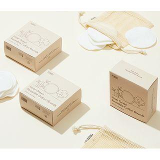PURITO - Inner Green Reusable Cotton Rounds Set
