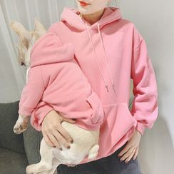 Seven Heaven - Plain Hooded Pet Top