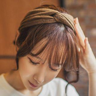 LIDO - Ribbed Knot Headband (3 Types)