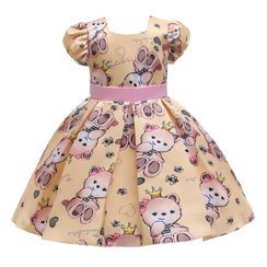 Junon - Kids Party Short-Sleeve Party Dress