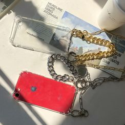 DABAGIRL - Chain Linked Transparent iPhone / Galaxy Case