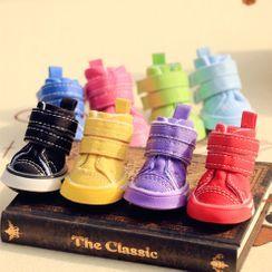 Bixin - Faux Leather Pet Shoes
