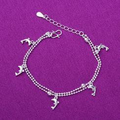 Forainer - Dolphin Bracelet / Anklet