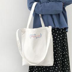 Geolte - 字母帆布手提袋