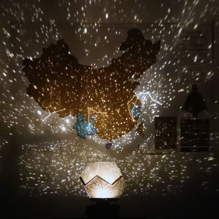 Cloud Forest - Rechargeable Star Projector Ornament
