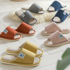 Cool Cocoon - Linen Indoor Slippers