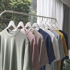 Soulcity - Plain Short Sleeve T-Shirt