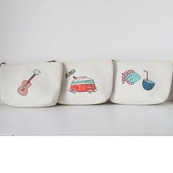 Hyole - Cotton and linen cosmetic bag