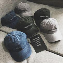 Aeroch - 字母刺繡帽