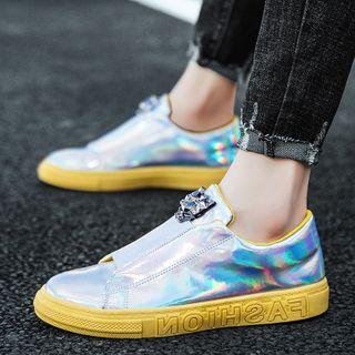 JACIN - Iridescent Slip-On Sneakers