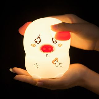 Cloud Forest - Rechargeable Silicone Pig Night Lamp