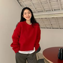 FROMBEGINNING - Alpaca Blend Sweater (6 Colors)
