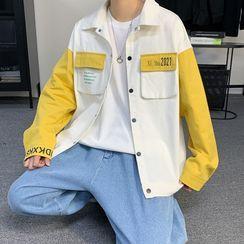 Freehop - Long-Sleeve Two-Tone Jacket