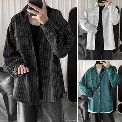 Wescosso - Striped Long-Sleeve Shirt