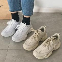 Yuche - Chunky Platform Sneakers