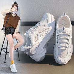 FRAISO - 双色厚底运动鞋