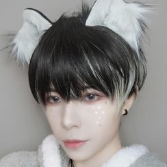 Aynu - Two-tone Short Full Wig - Straight