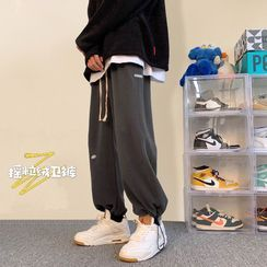 EOW - Straight-Leg Drawstring Sports Pants