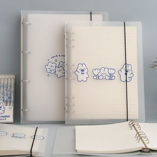 Nina's House - Loose-Leaf Notebook Cover/ Refills