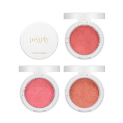 HOLIKA HOLIKA - Pearly Dough Blusher Pearly Flash Collection - 3 Colors