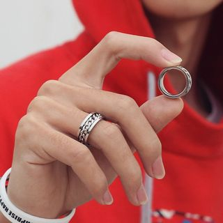 Black Degree - Stainless Steel Chain Ring