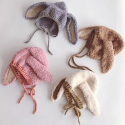 Skylit - Kids Rabbit Ear Knit Beanie