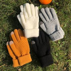 Melon Juice - Contrast Trim Gloves