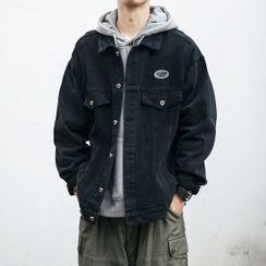 SKASEE STUDIO - 宽松牛仔夹克
