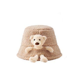 HARPY - Bear Chenille Bucket Hat