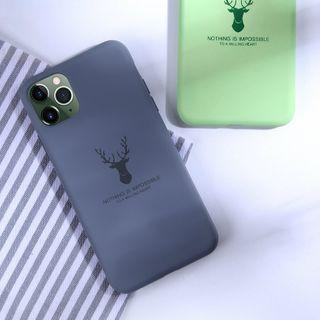 TreaSURE - Deer Print Mobile Case - iPhone 11 Pro Max / 11 Pro / 11 / XS Max / XS / XR / X / 8 / 8 Plus / 7 / 7 Plus / 6s / 6s Plus