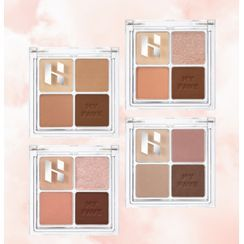 HOLIKA HOLIKA - My Fave Eyeshadow Palette - 4 Colors