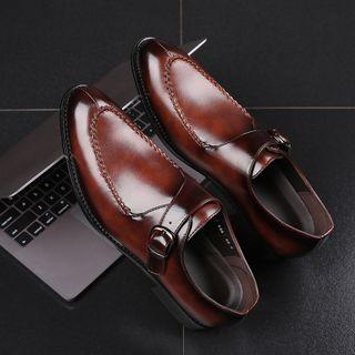 Taragan - Buckled Slip-On Dress Shoes